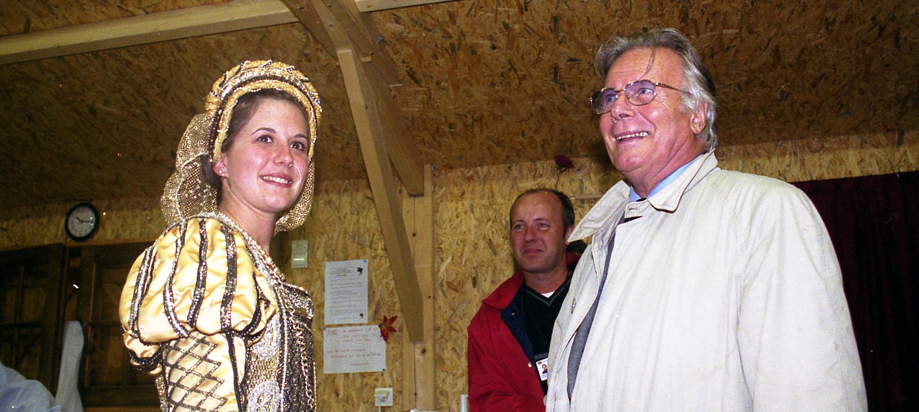 Le Puy du Fou rend hommage à Jean Piat