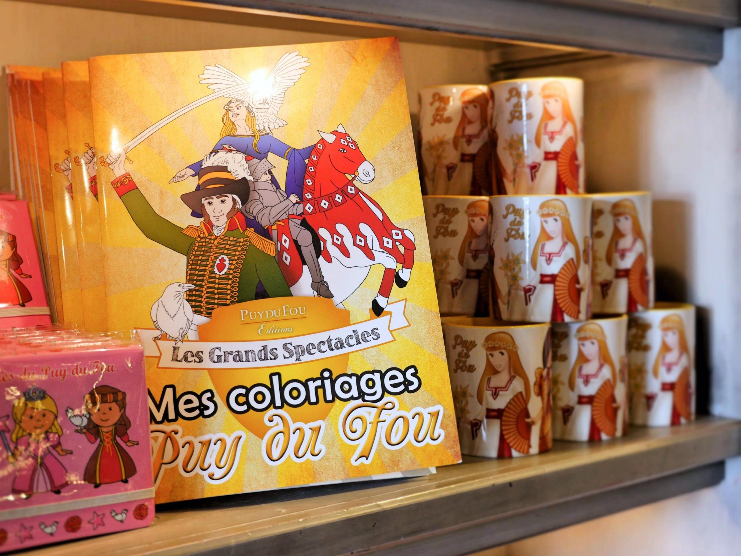 Albums de coloriage - Puy du Fou